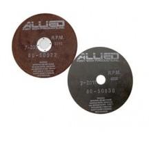 """Disco Abrasivo SiC,  9"""" X .040"""" X 1.25""""/32 mm (Pk/10) (Hule)"""